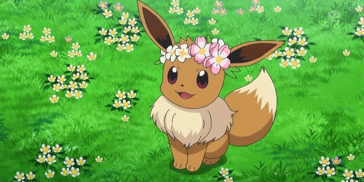 Pokemon GO: How To Get Shiny Flower Crown Eevee | Game Rant