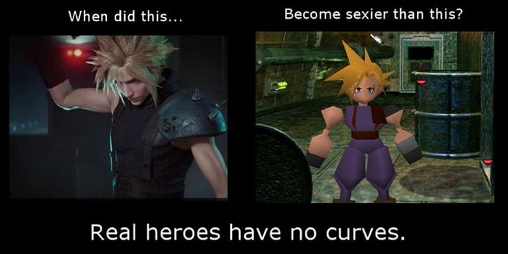 Final Fantasy 7 10 Hilarious Memes Only True Soliders Understand