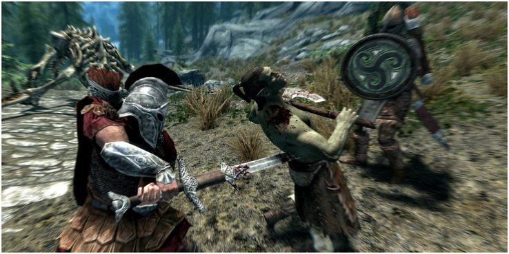 Skyrim: The 10 Craziest Random Encounters You Probably Missed