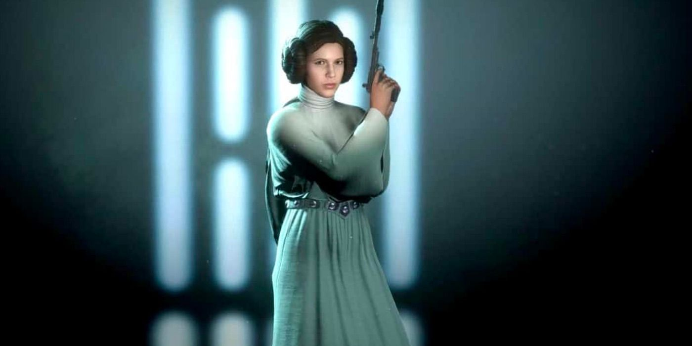 Star Wars Battlefront 2 Mod Gives Leia a Different Look
