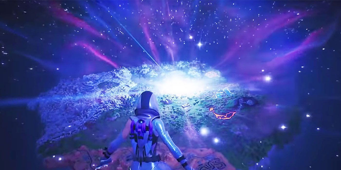 Fortnite Twitch Streamer Trolled By Image of 'Black Hole'