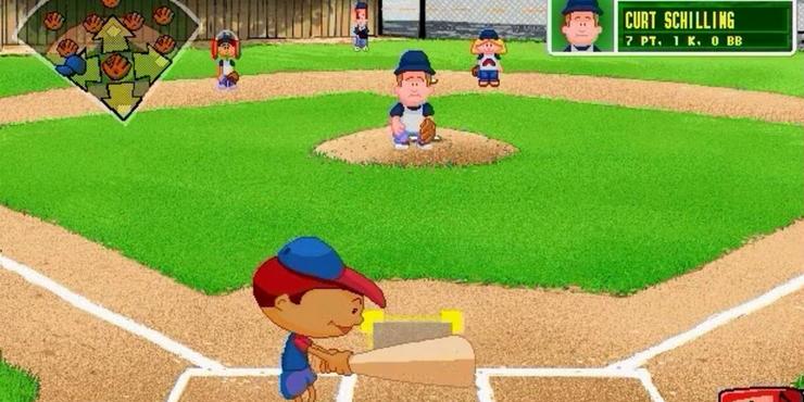 Backyard Baseball 2004 - House of Things Wallpaper