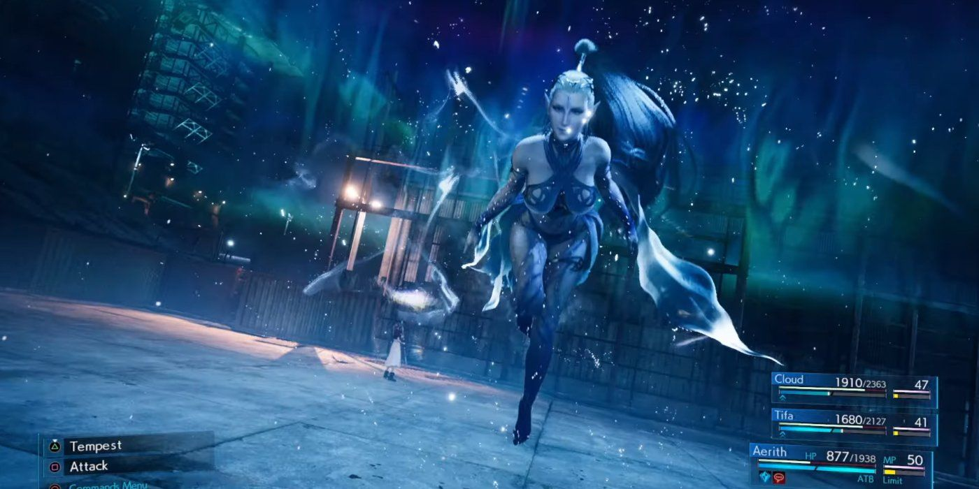 Final Fantasy 7 Remake Dev Explains How Summons Work | Game Rant