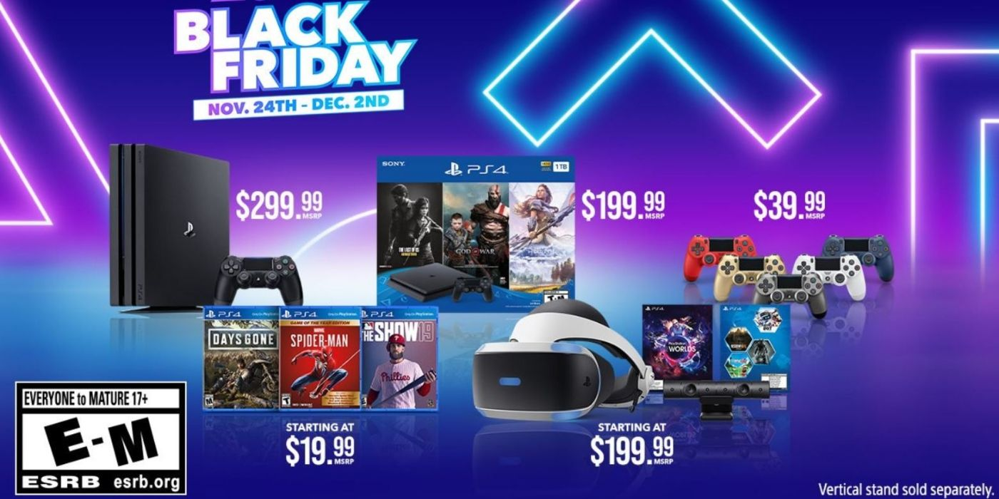 Sony Reveals PlayStation Black Friday and Cyber Monday Deals
