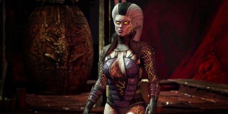 The Evolution Of Mortal Kombat 11 S Sindel Explained Game Rant