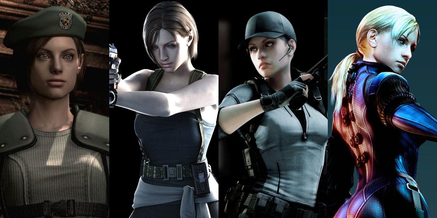 A Retrospective Look On Resident Evil S Jill Valentine