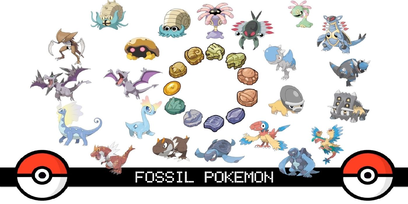 Pokemon Sword And Shield Fossil Pokemon Combinations And