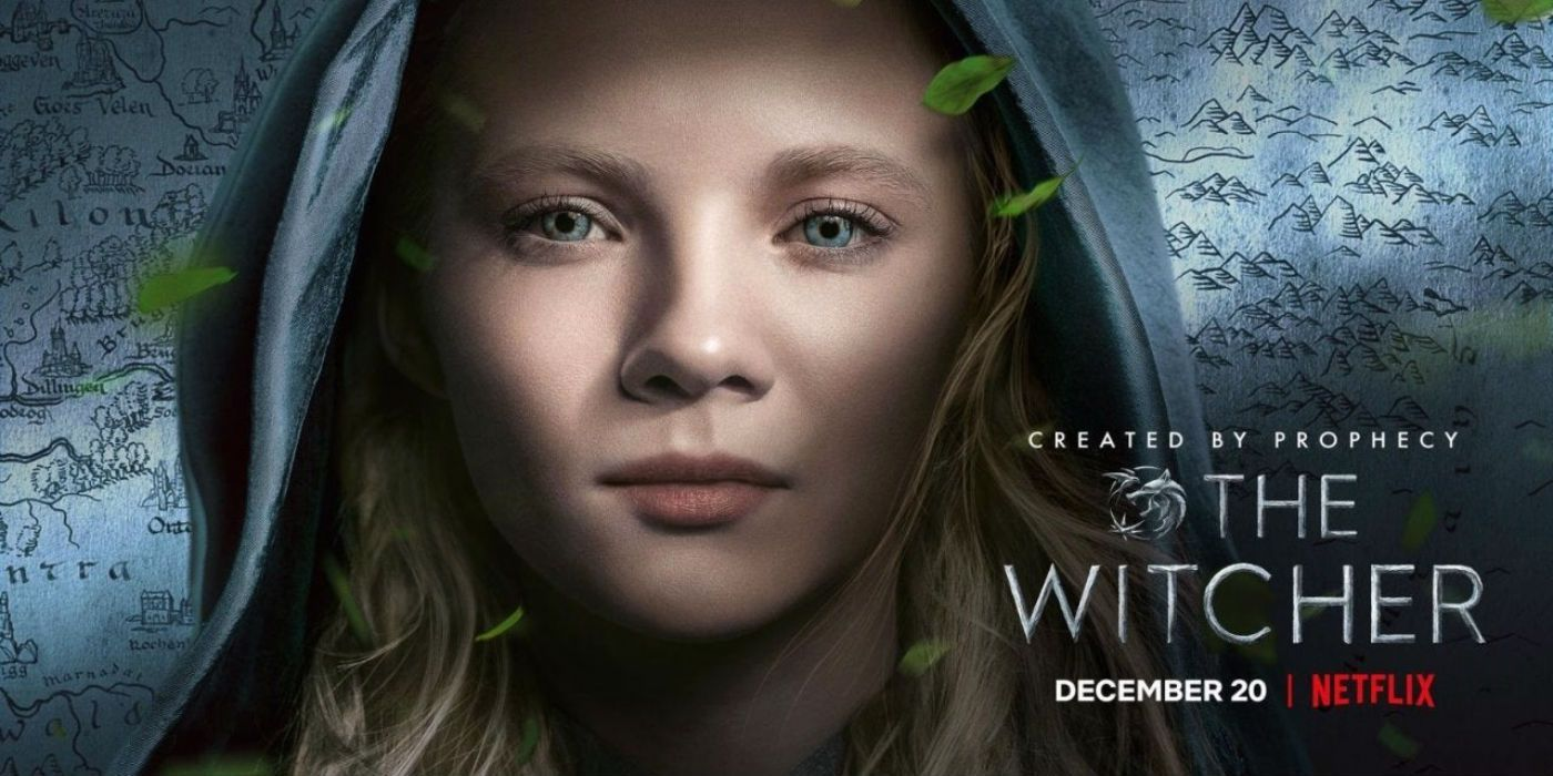 The Witcher Netflix Series Reveals New Posters for Geralt, Ciri, and Yennefer