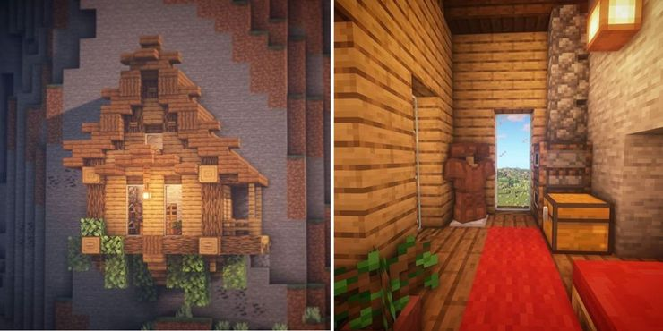 simple minecraft survival house ideas