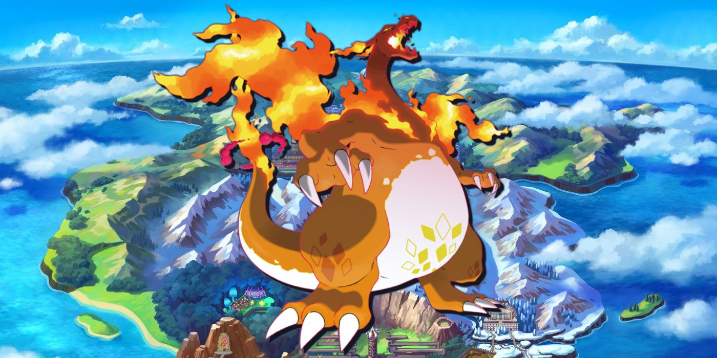 First Image of Gigantamax Charizard from Pokemon Anime Debuts