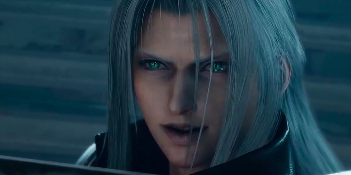 New Final Fantasy 7 Remake Trailer Features Sephiroth Showdown Red Xii