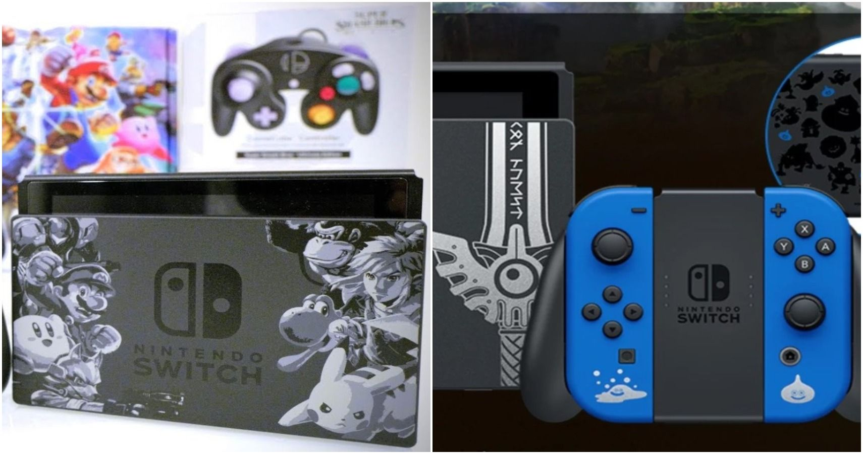 10 Best Limited Edition Nintendo Switch Models Ranked