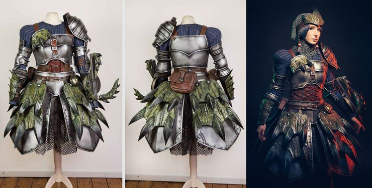 10 Amazing Monster Hunter World Cosplays Game Rant