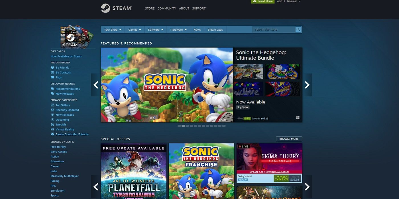 Steam Store Search Delivers Offensive Message for Epic Games