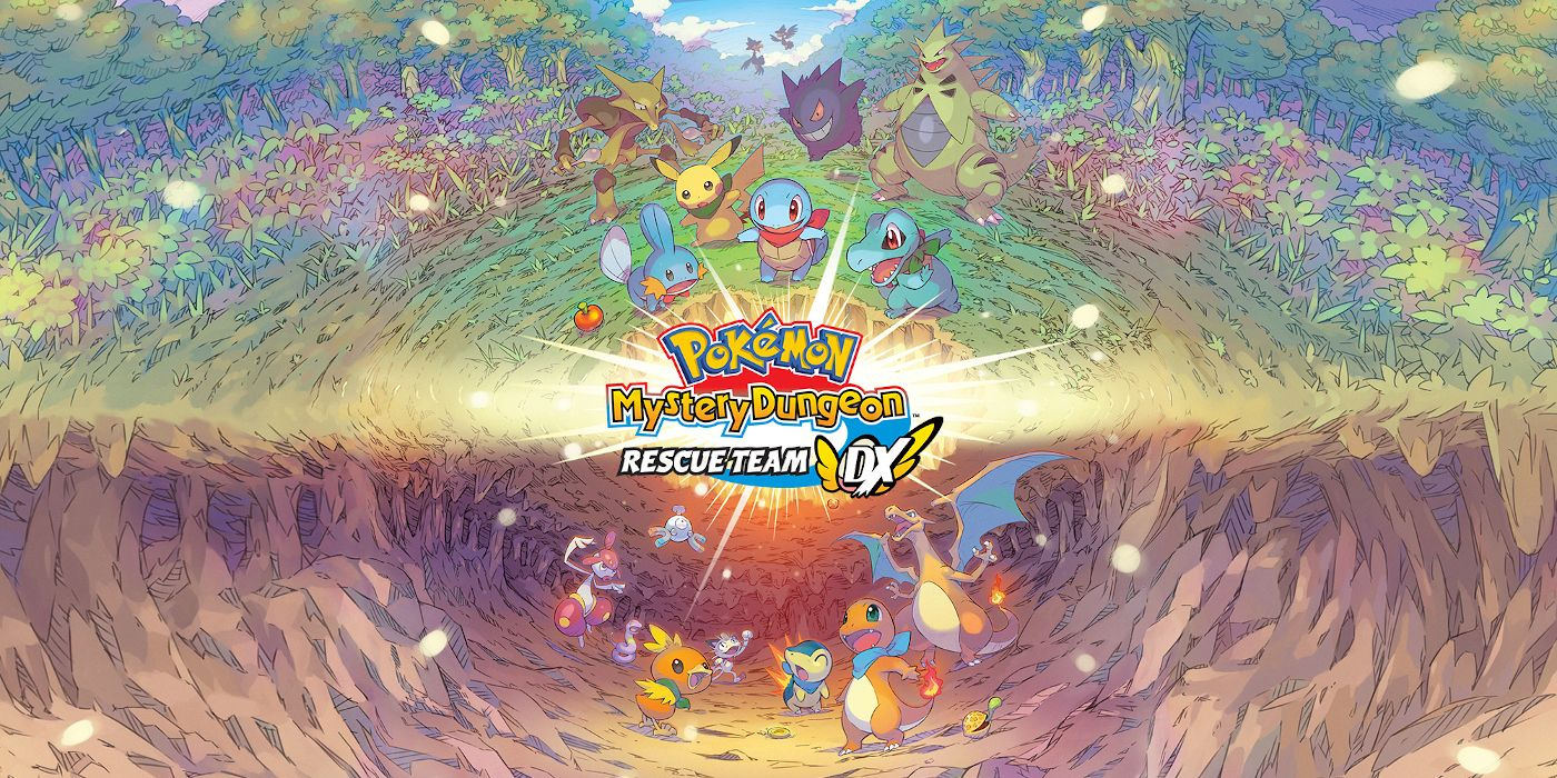 Pokemon Mystery Dungeon: Rescue Team DX Gets New Gameplay Trailer