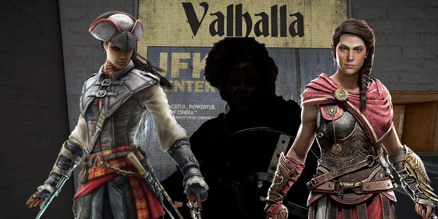 The Evolution Of Female Assassins Leading Up To Assassin S Creed