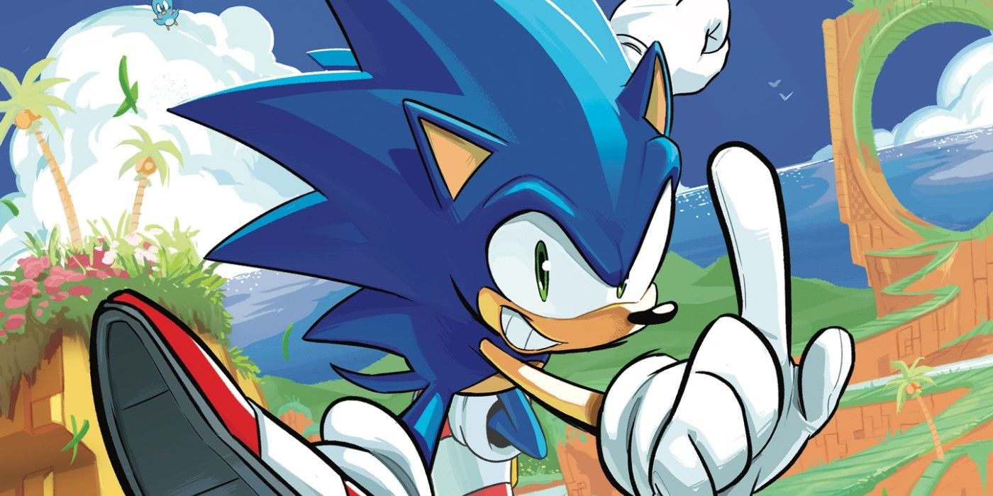 Idw Announces New Writer For Sonic The Hedgehog Comic Book Series