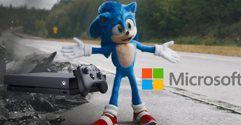Microsoft Giving Away Limited Edition Sonic The Hedgehog Xbox One X