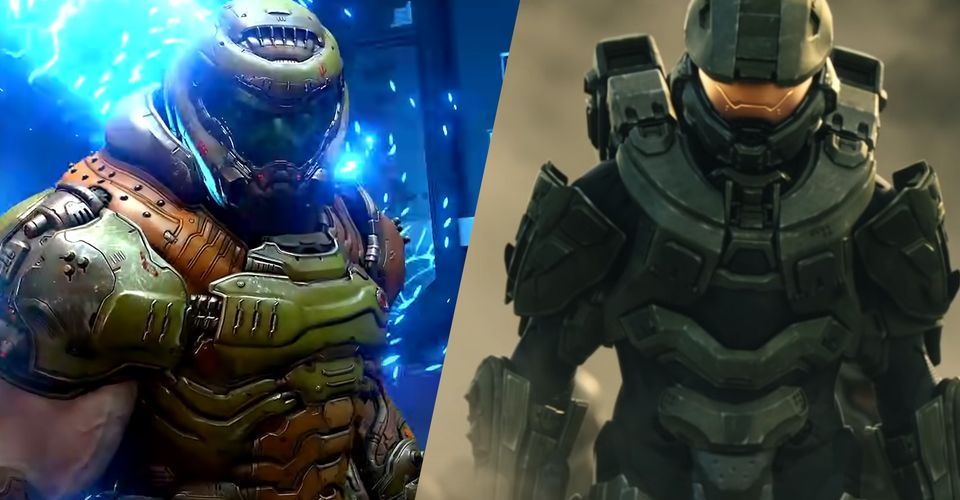 Doom Guy Vs Master Chief Who Wins In A Fight Game Rant