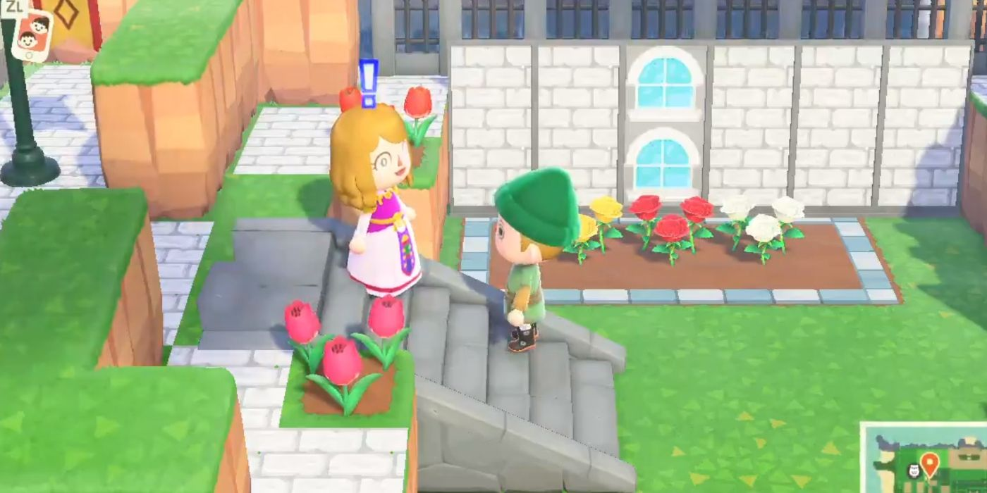 Animal Crossing New Horizons Player Recreates Ocarina Of Time S Hyrule Castle Garden