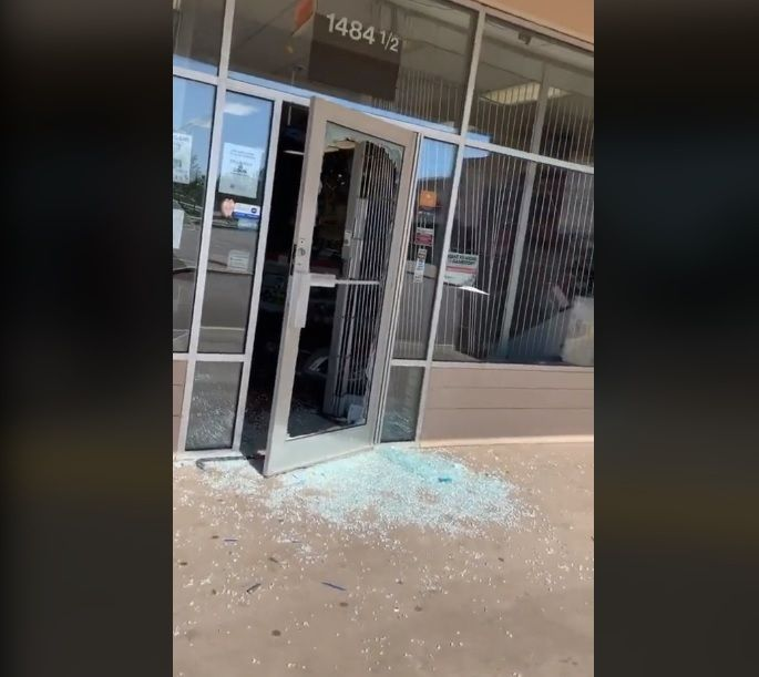 Video Shows Aftermath Of Gamestop Destroyed And Looted In