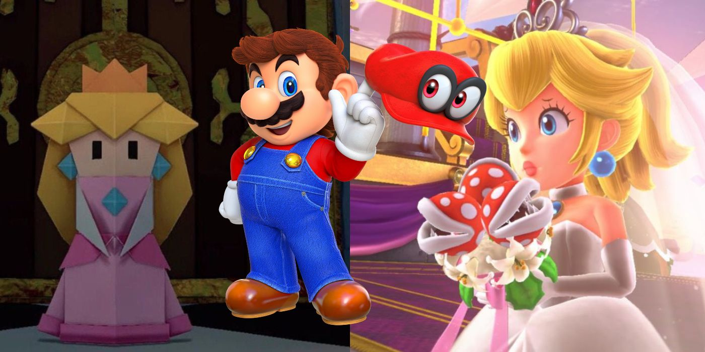 Super Mario Odyssey 2 Should Leave Princess Peach To Paper Mario
