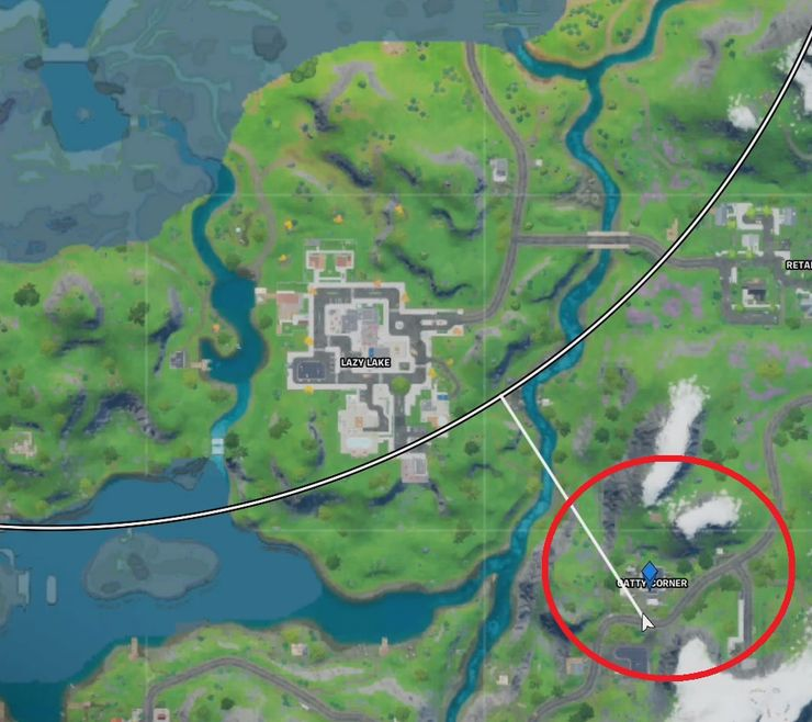 Fortnite Where To Find Catty Corner Vault Game Rant
