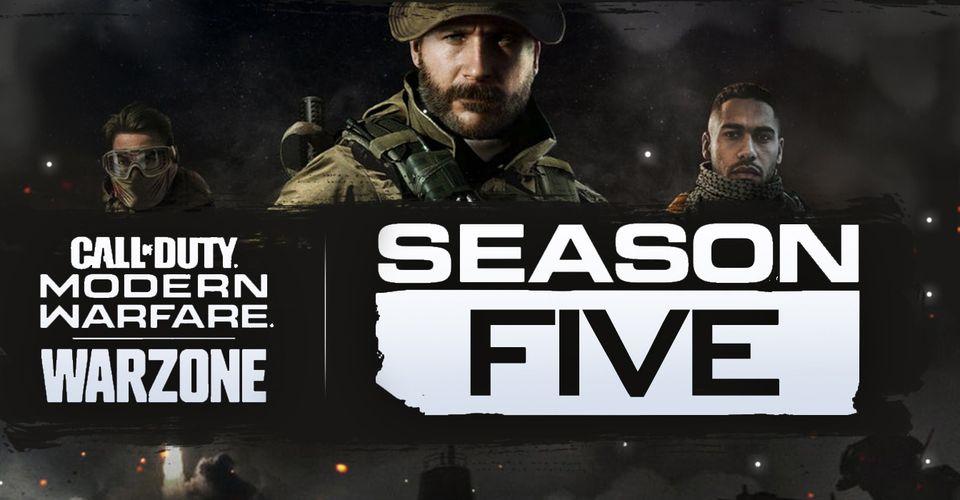 Call Of Duty Modern Warfare Season 5 Promo Has Leaked New Guns