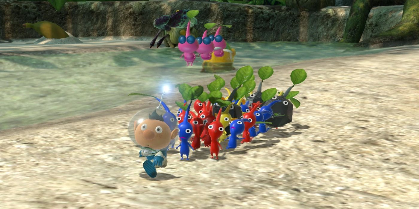 Pikmin 3 Deluxe Reveals Box Art File Size And More Game Rant