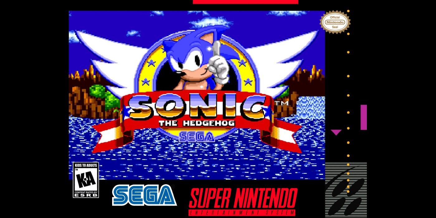 Programmer Gets Sonic The Hedgehog Running On An Snes Game Rant