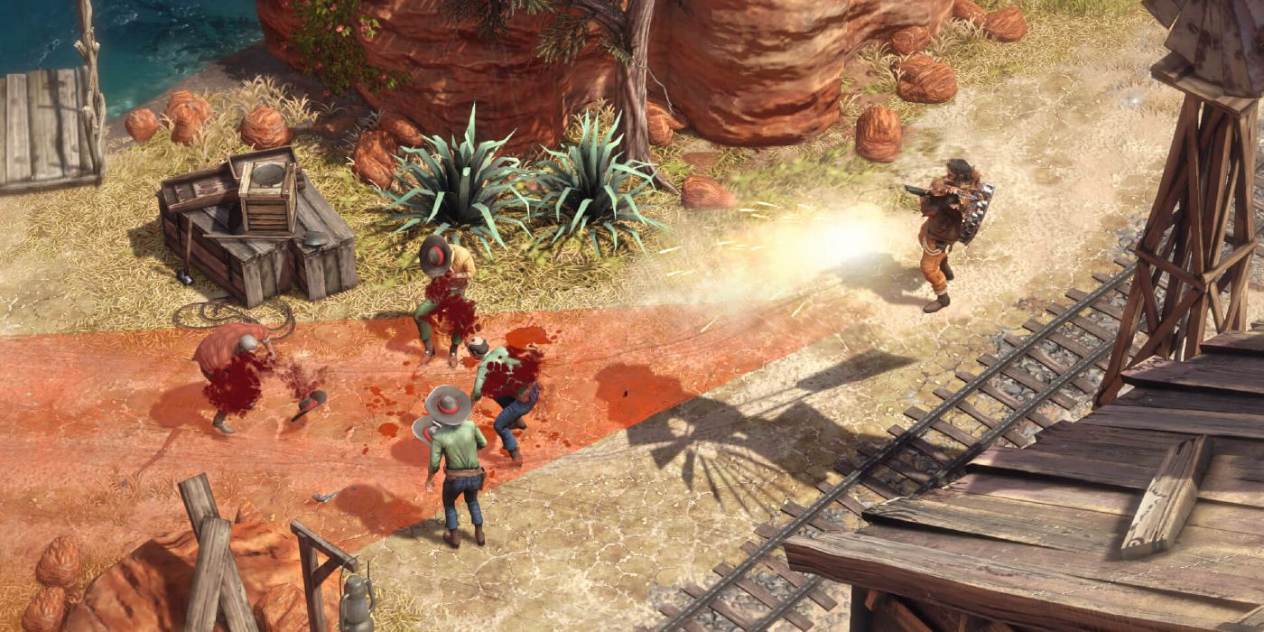 Desperados 3 Releases New Dlc Trailer Game Rant