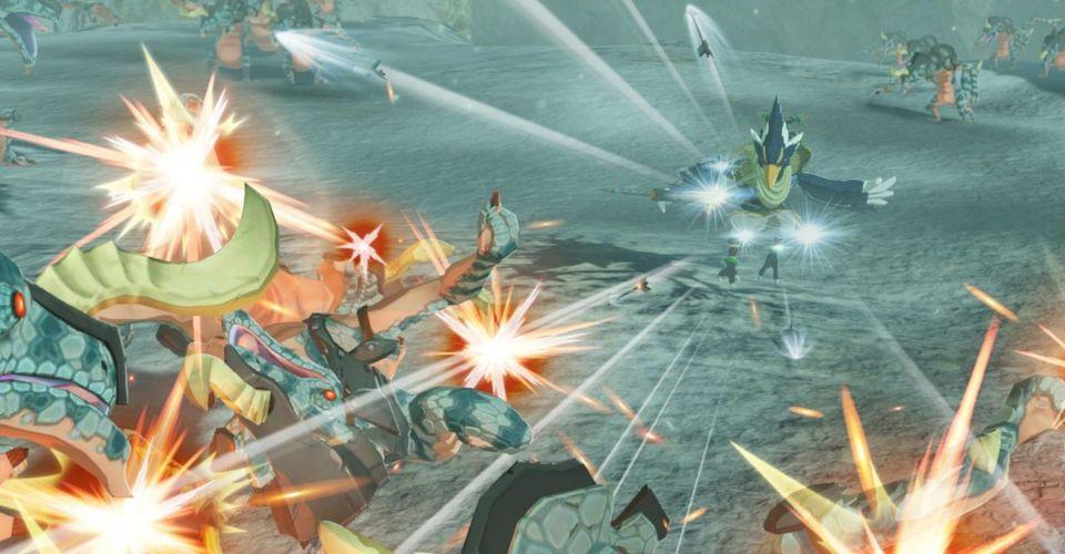 Hyrule Warriors Age Of Calamity Reveals Hestu And The Koroks