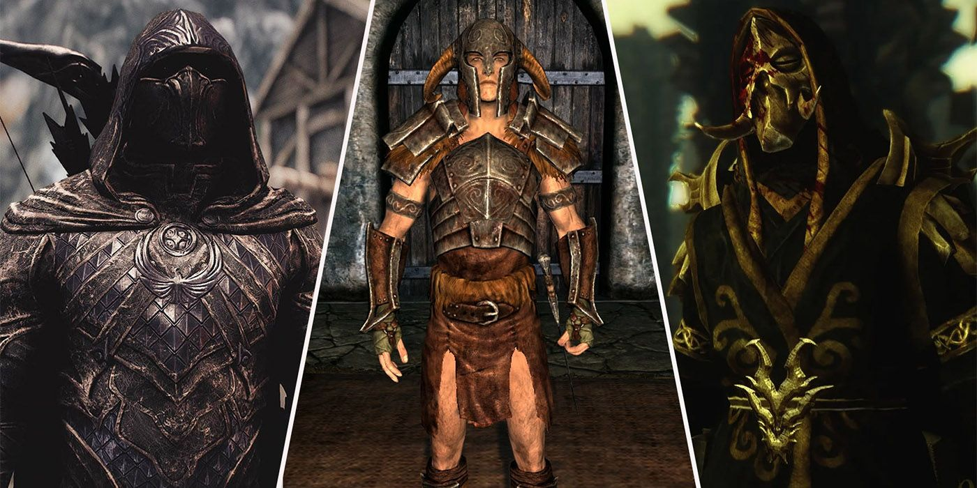 Skyrim: Best Unique Pieces Of Armor (& Where To Find Them)