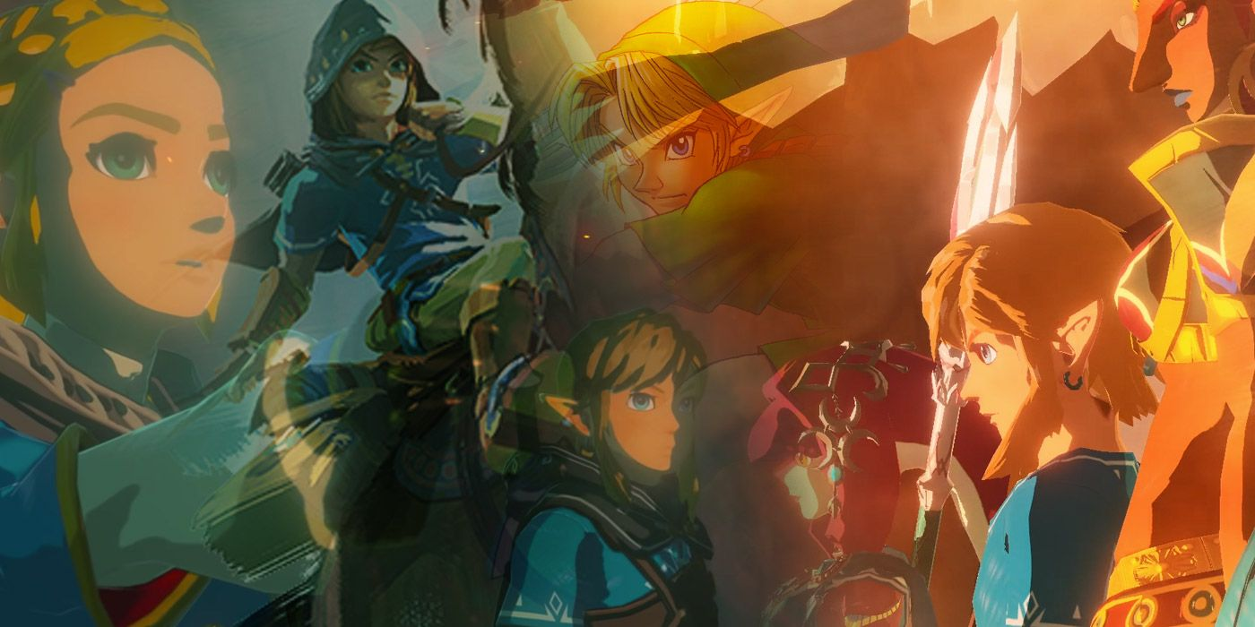 Hyrule Warriors Age Of Calamity Breath Of The Wild 2 Have Huge Implications For Zelda Timeline