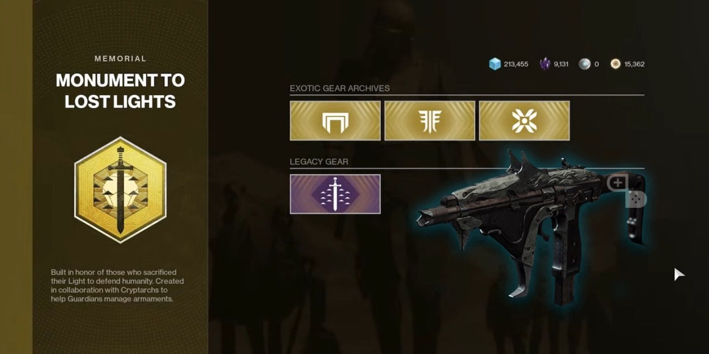 Destiny 2: How to Get Spoils of Conquest for Exotic Raid Weapons