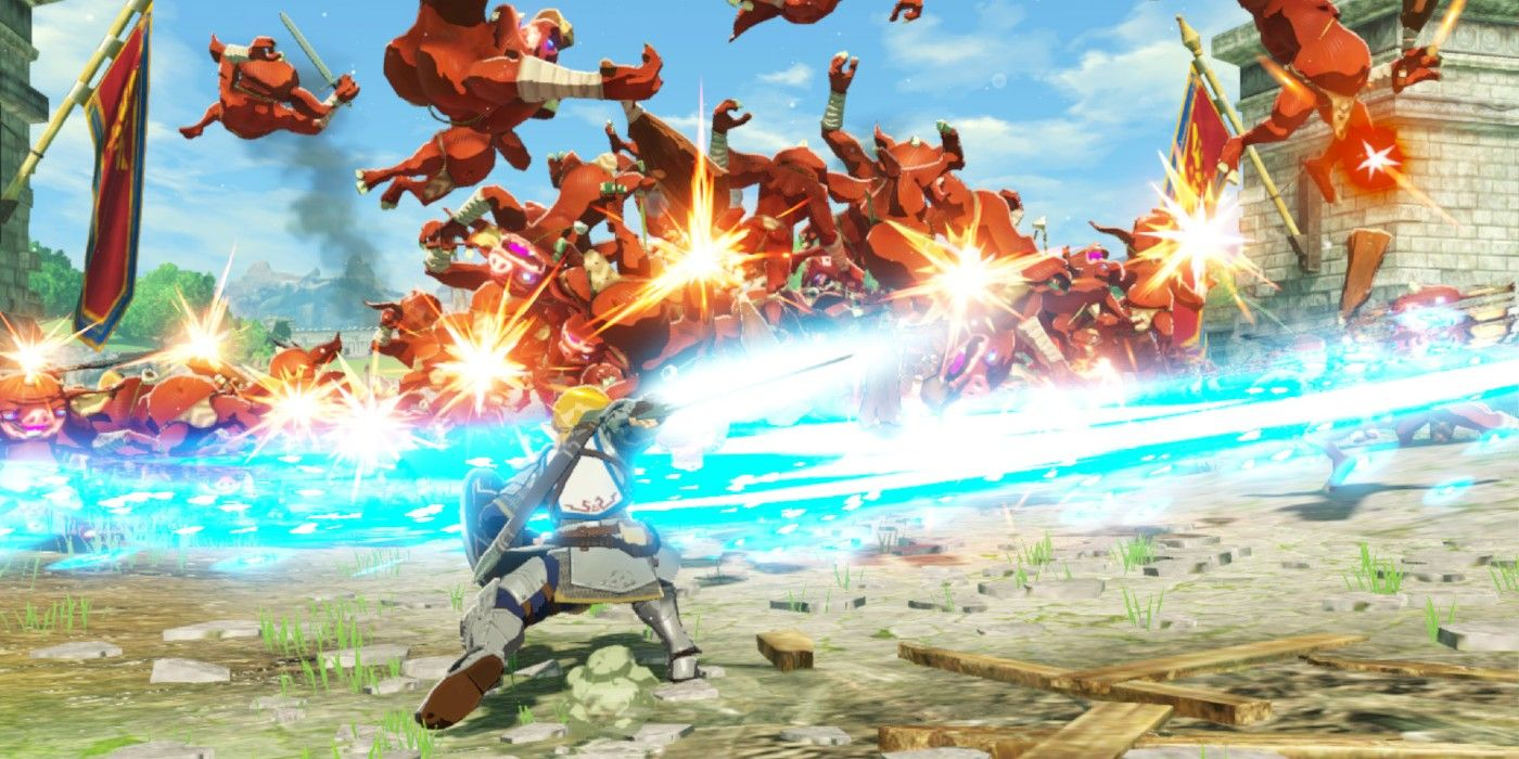 First Hyrule Warriors Age Of Calamity Review Gives Game High Praise