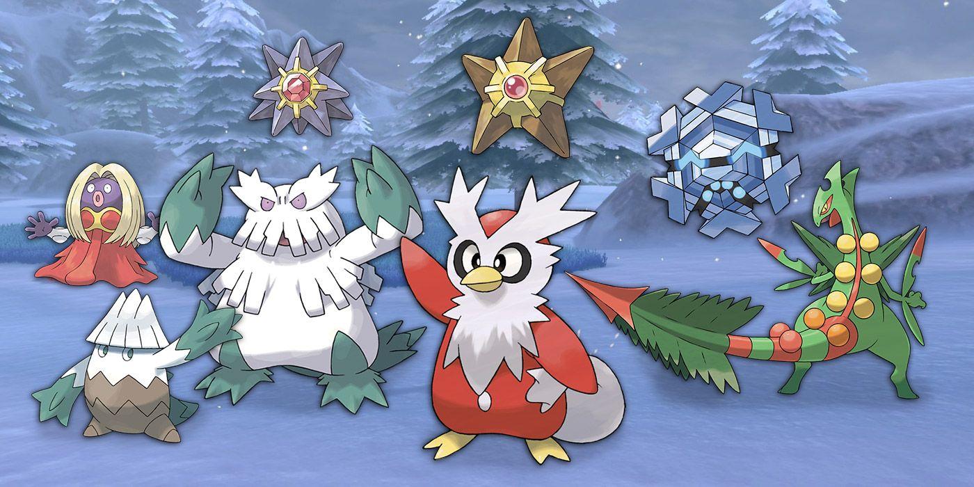 Christmas-Inspired Pokemon are Festive Fun | Game Rant