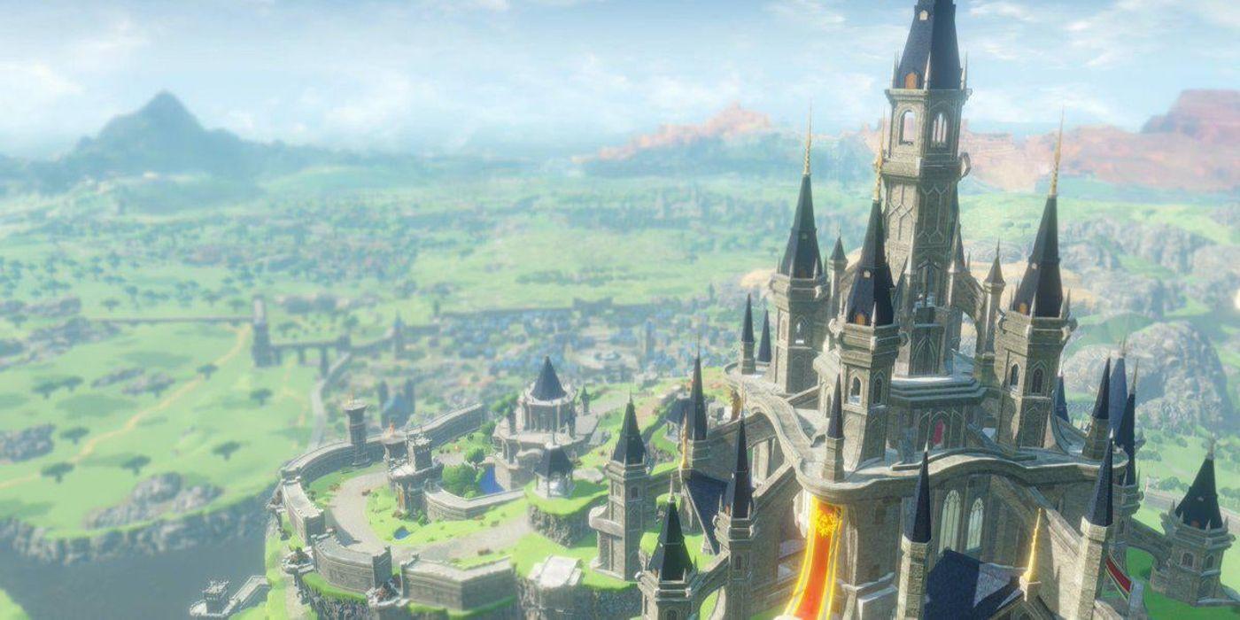 The Legend Of Zelda Breath Of The Wild Mod Renovates Hyrule Castle