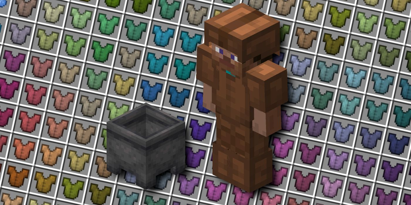 Minecraft: How to Dye Armor  Game Rant