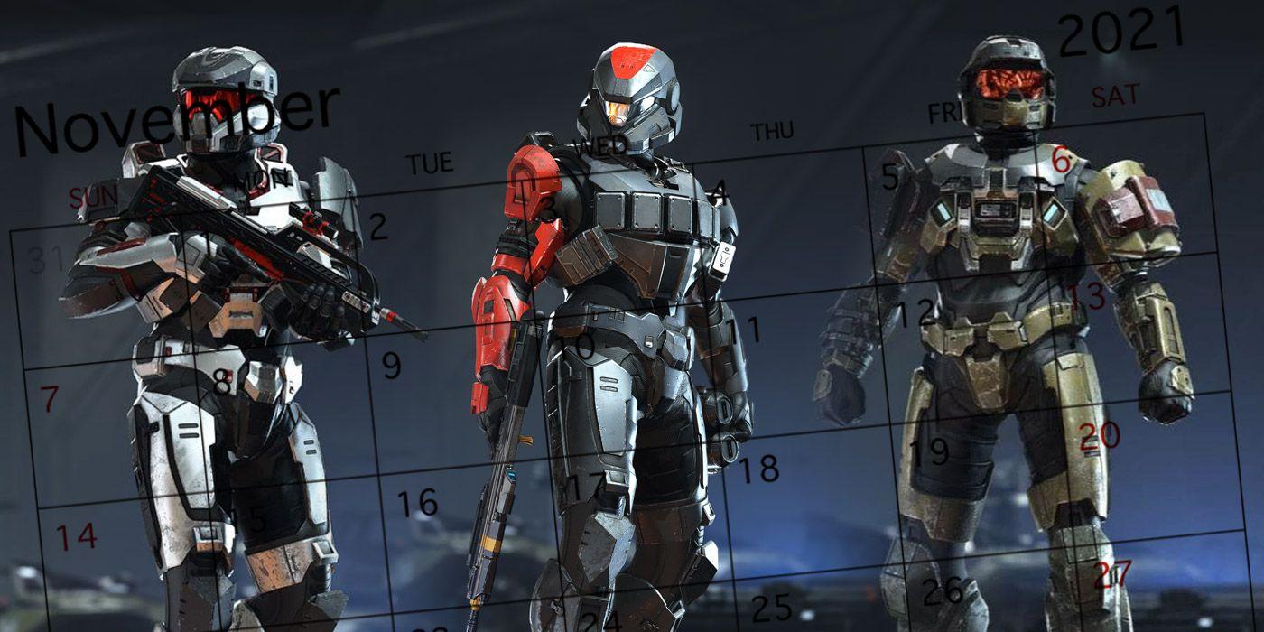 Predicting Halo Infinite's Release Date - GameRant