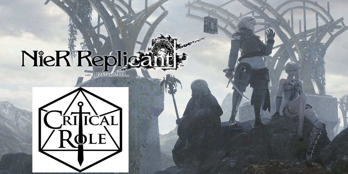 Critical Role Cast Members Laura Bailey and Liam O'Brien Returning for NieR Replicant Voice Acting