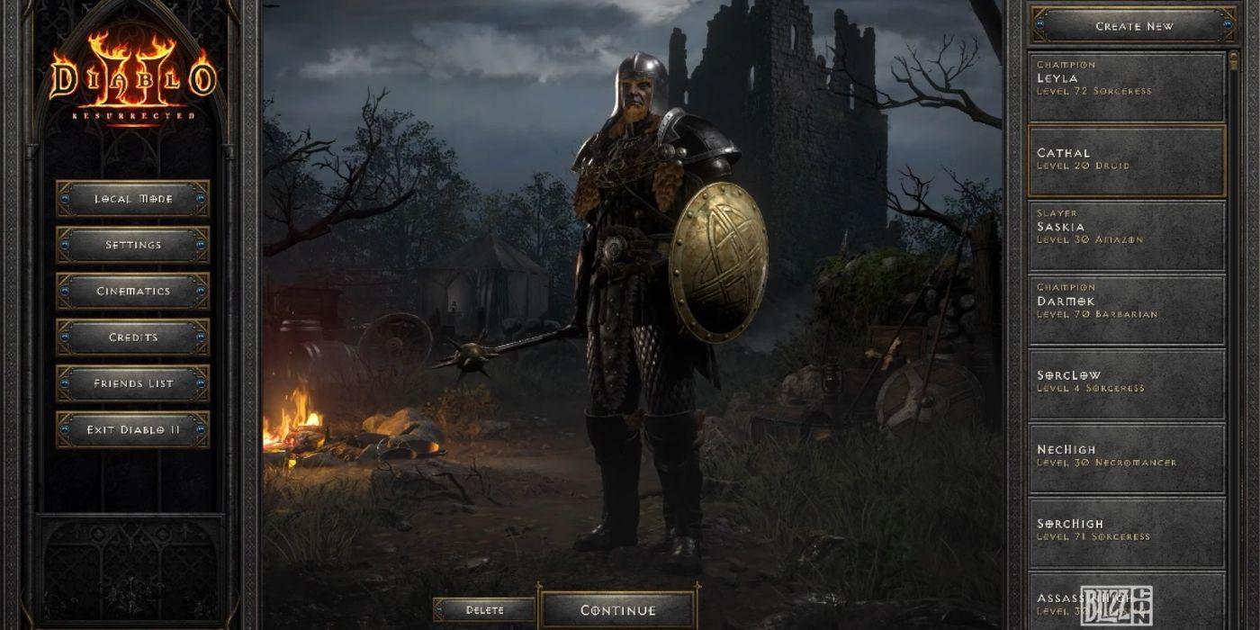 Diablo 2: Resurrected's Biggest Changes Detailed | Game Rant