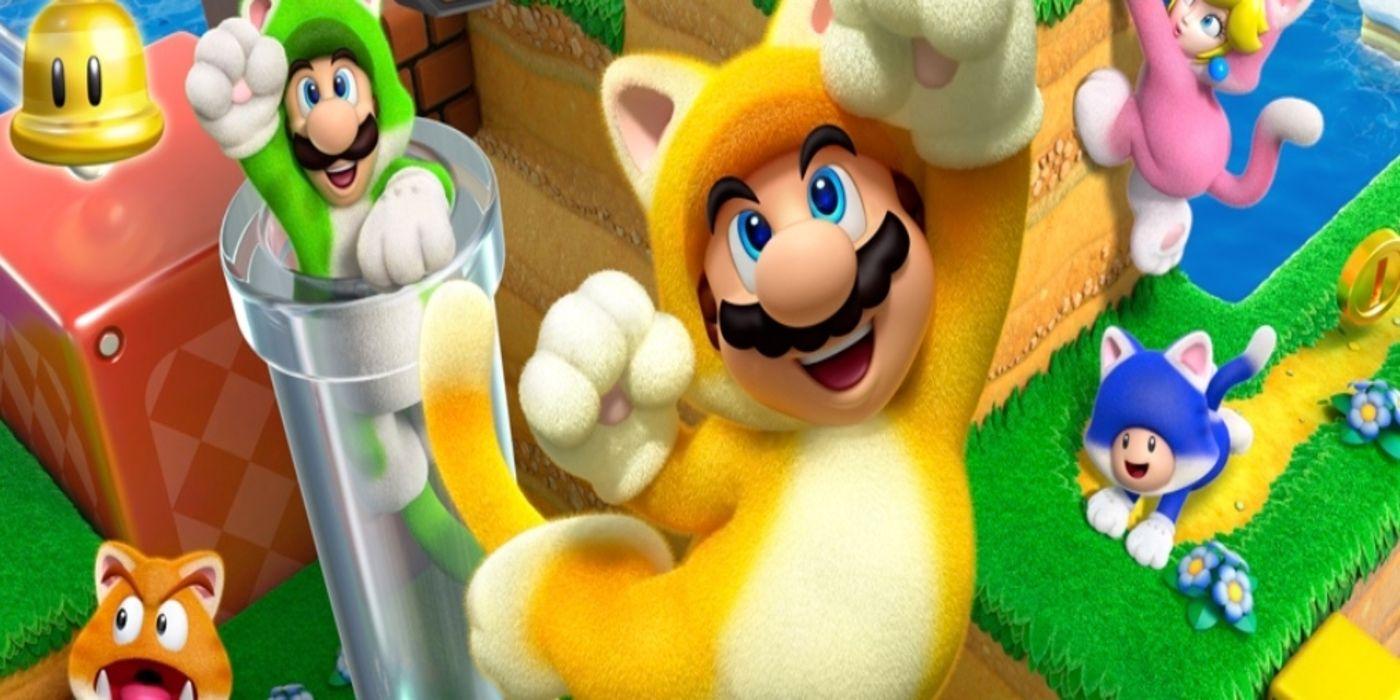 Super Mario 3D World + Bowser's Fury: World 3-5 Green ...