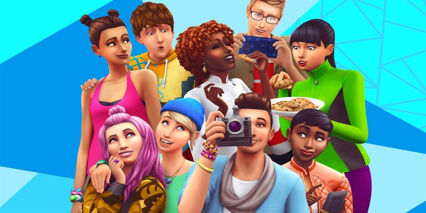 The Sims 4 - cover
