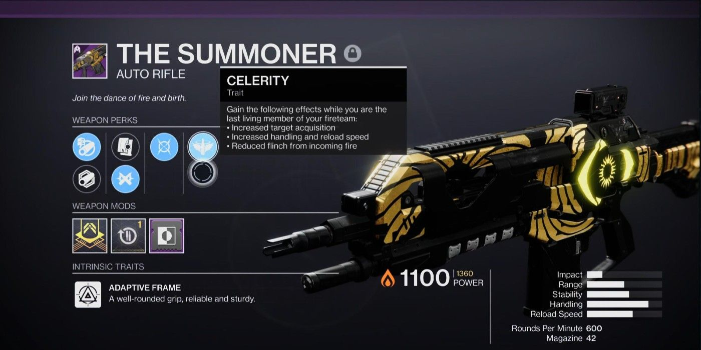 Two Destiny 2 Perks Need to Be Intrinsic on Adept Weapons