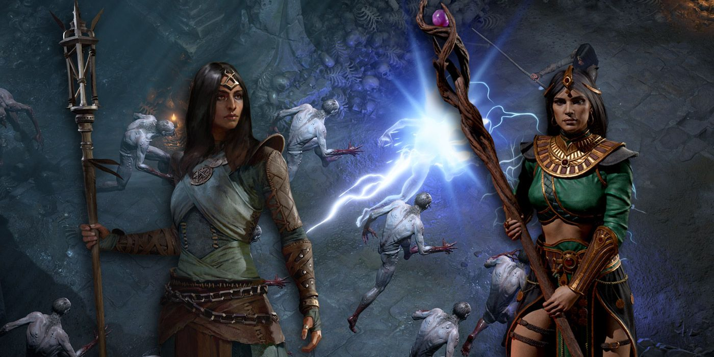 Comparing Diablo 4 S Sorceress Class To Diablo 2 Resurrected S