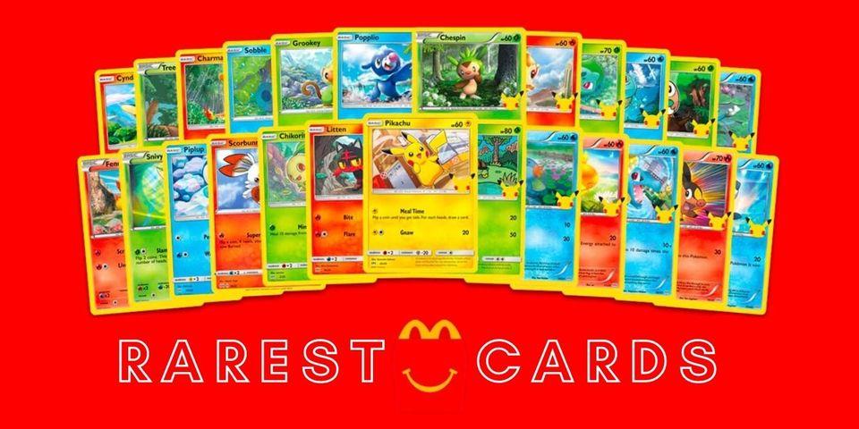The Rarest McDonald's Pokemon Cards