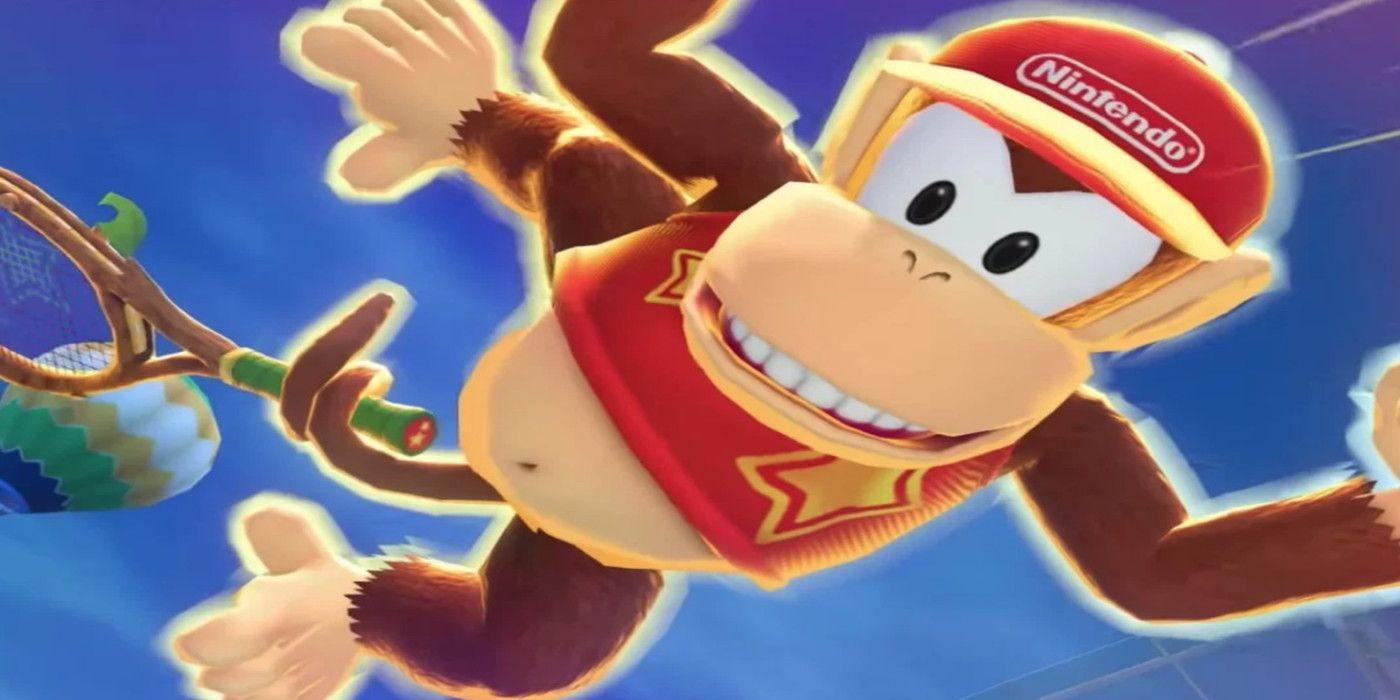 Diddy Kong Render on Japanese Nintendo Website Has Been Updated