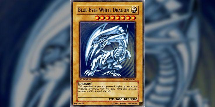 Yugioh the legendary normal dragon monster.