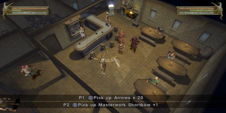 Скриншот игрового процесса Baldur's Gate Dark Alliance